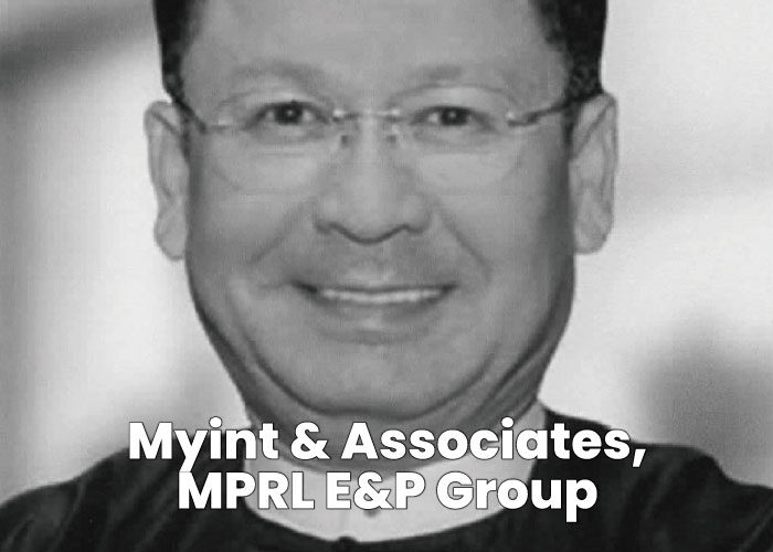 Michael Moe Myint - Myint & Associates, MPRL E&P Group
